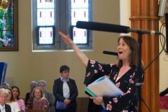 School Choir Director Tara O'Sullivan