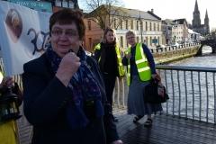 2aa Mary O Brien salutes Nano